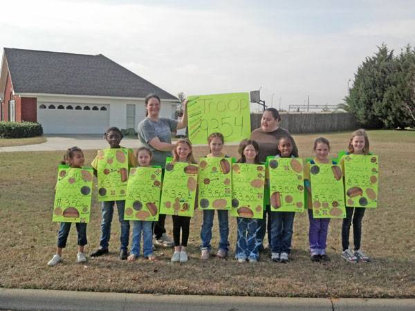 Girl Scout Walk-A-Bout was held In Headland