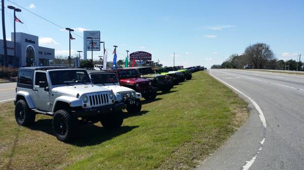 All Those Jeeps