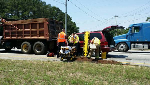 UPDATED: Major Wreck on Reeves Street at Westgate