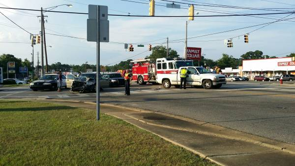 Serious Accident with Injuries on South Oates at Selma