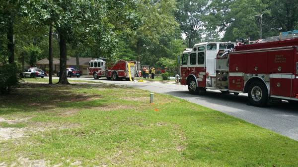 Structure Fire On Northfiled Circle