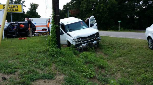 Three Car Accident With 6 Injuries In Webb