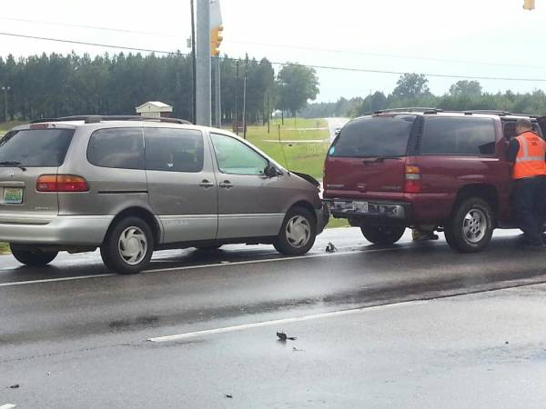 Another Two Vehicle Crash on US 84 at Glenn Lawrence