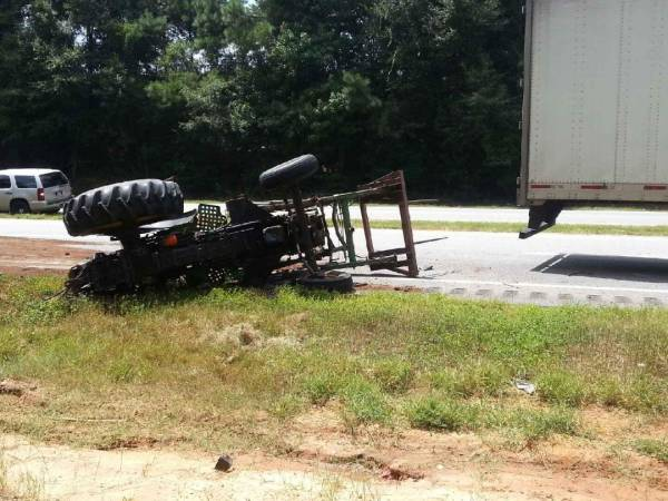 UPDATED: Semi vs Tractor on US 231