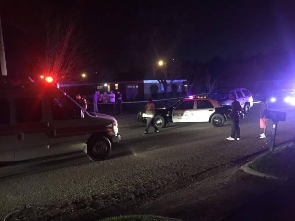 6:02 PM.. Firarmed Assault at Alpine and Martin Street
