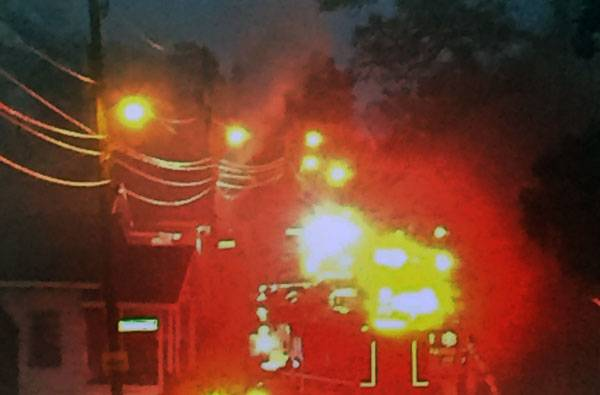 5:55 AM... Structure Fire at 303 Pine Street