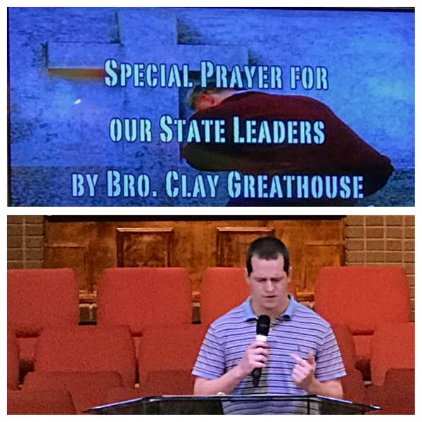 Special Prayer Tonight for ALL Alabama State Officials