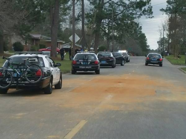 1:30 PM... Foot Chase in Dothan