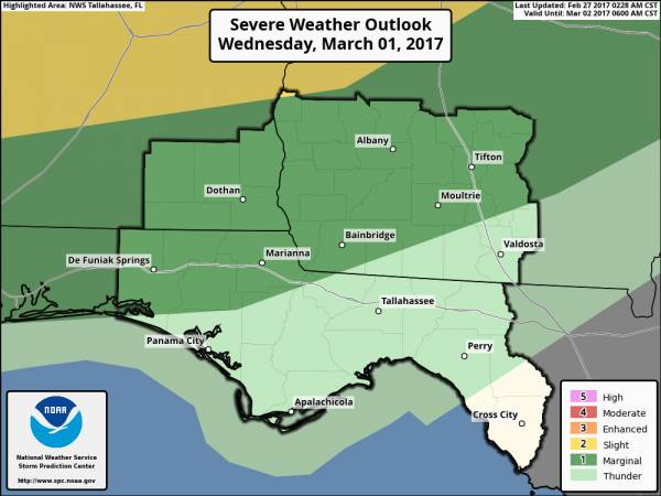 Severe Weather Potential Wednesday Night