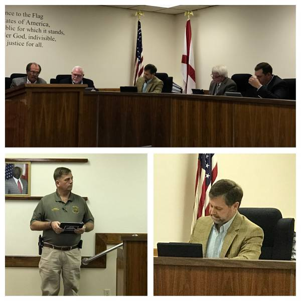 Dale County Commission Meets In Daleville - Solid Waste Presentation and Also Heated Exchange Between Sheriff and Comimission Chairman