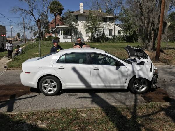 1:00 PM. Motor Vehicle Accident S. St. Andrews and E. Savannah Street