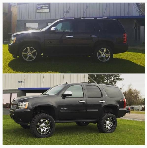 Build the Truck or SUV of your dreams with Under Cover Fabworks!