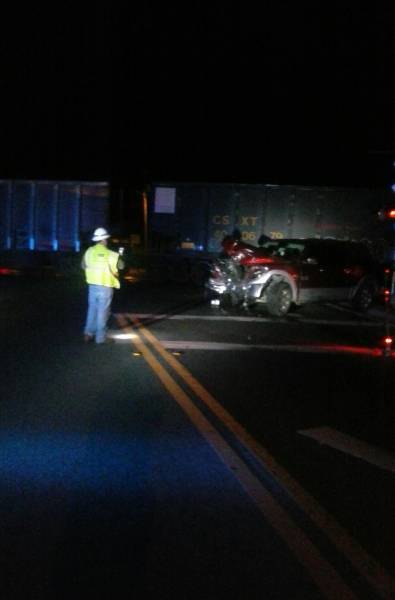 Truck Collides with Train in Bonifay