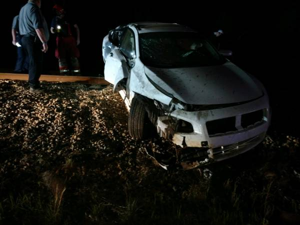 One Person Airlifted after Accident in Jakin