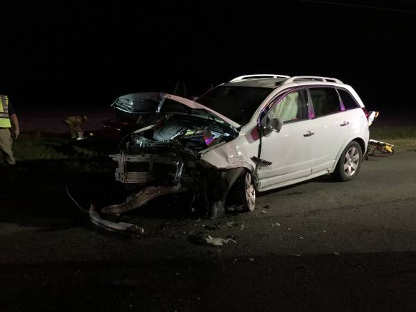 SCENE PHOTOS  Wreck Last Evening Napier Field Road North of Mance Newton Road