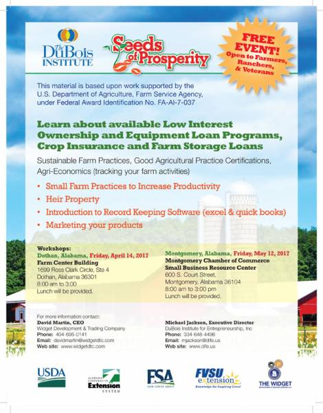 Free Workshops for Farmers