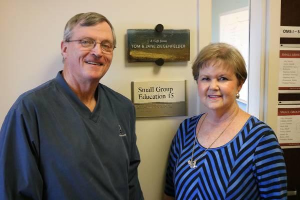 Ziegenfelder family makes donation