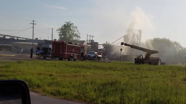 5:00 AM.. Another Fire in the Silo at Howell Plywood
