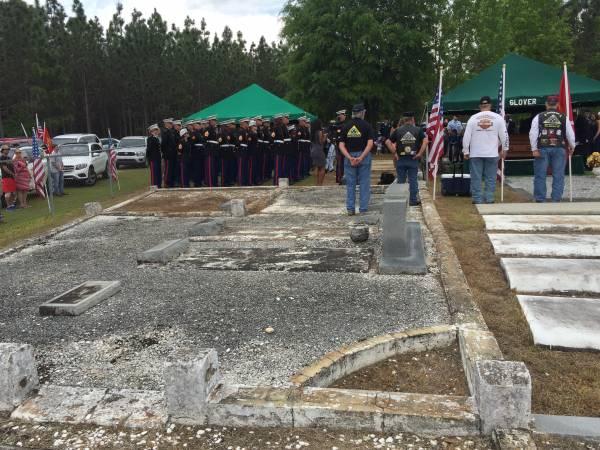 Funeral Services - ACTUAL SERVICE - Graveside For James Otis Whitehurst