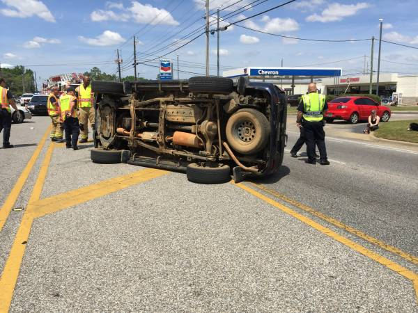 UPDATED @ 1:54 PM.  1:36 PM.... Vehicle Overturned on West Main at Westgate