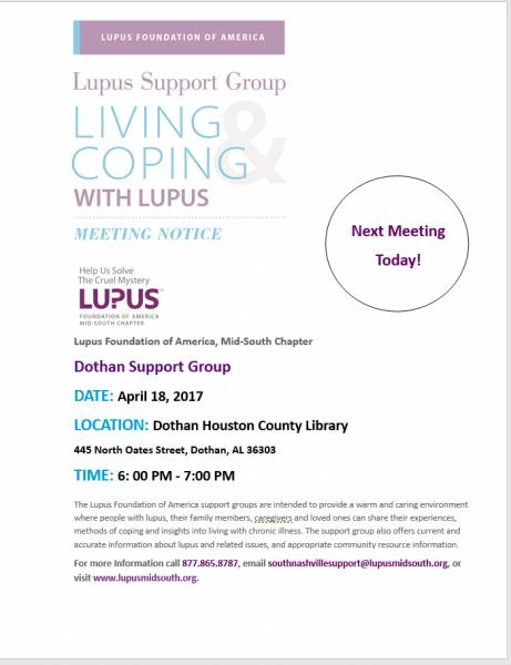 Lupus Support Group