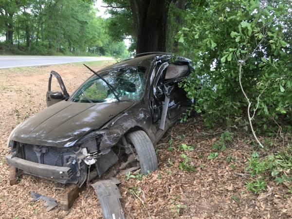 Headland Car Crash