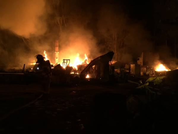 Southern Junction Structure Fire