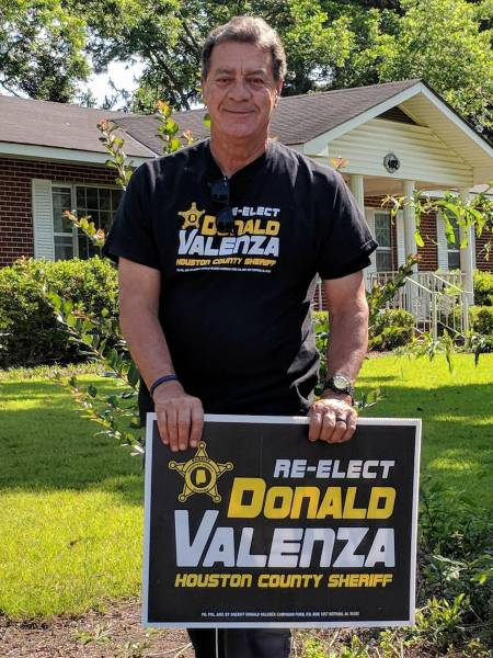 HOW HOUSTON COUNTY WENT FROM  ANDY HUGHES AS SHERIFF TO DONALD VALENZA AS SHERIFF