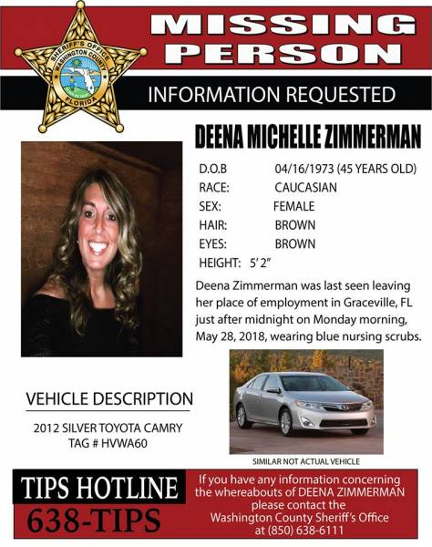WCSO SEARCHES FOR CARYVILLE WOMAN
