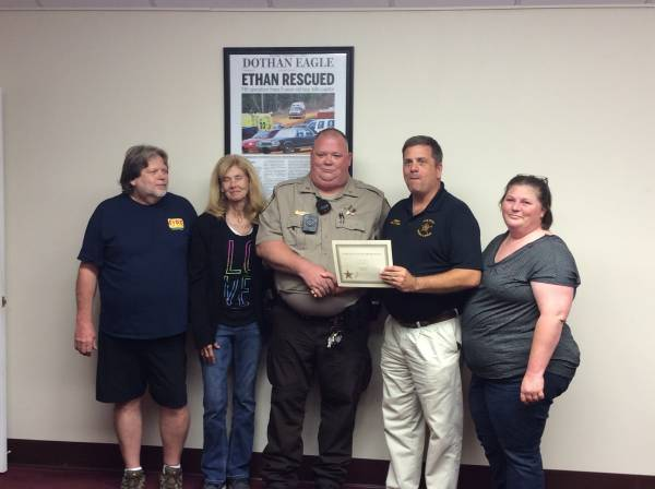 Dale County Sheriff's Office Held Promotion Ceremony