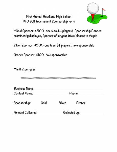 Headland High School Golf Tournament