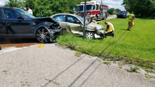 2:16 PM... Motor Vehicle Accident at Denton and Vista Grand Drive