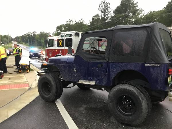 4:11 PM.   Vehicle Accident 2600 Block of Denton Road