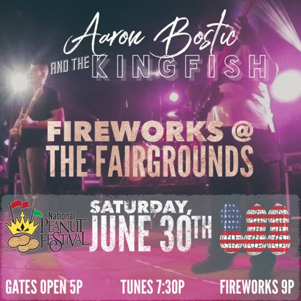Fireworks at The Fairgrounds 2018