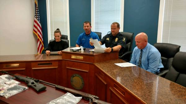 Search Warrant Lands Four Headland Men in Jail on Multiple Charges