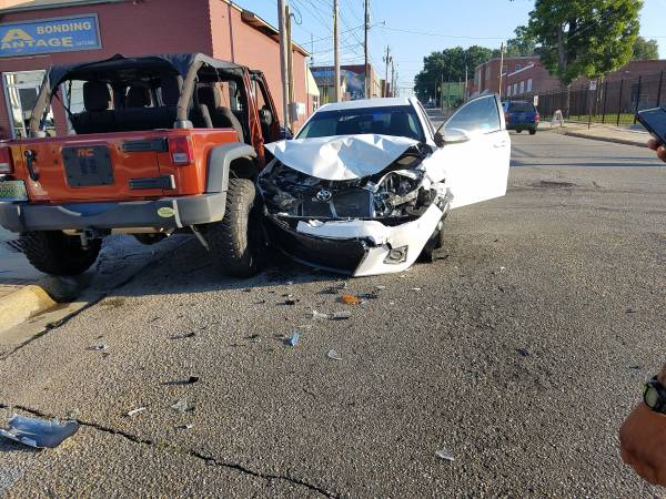 7:15 AM...Motor Vehicle Accident at North St Andrews and East Adams