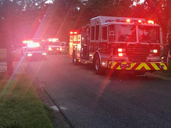 7:20 PM..Structure Fire Reported at 1207 Fredrick Road