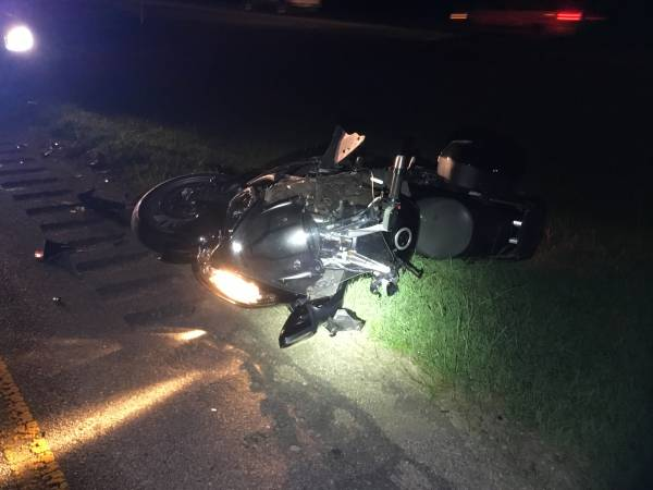 Motorcycle Wreck On Highway 231 South