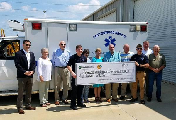 Local Rescue Squad Recieves much Needed Grant