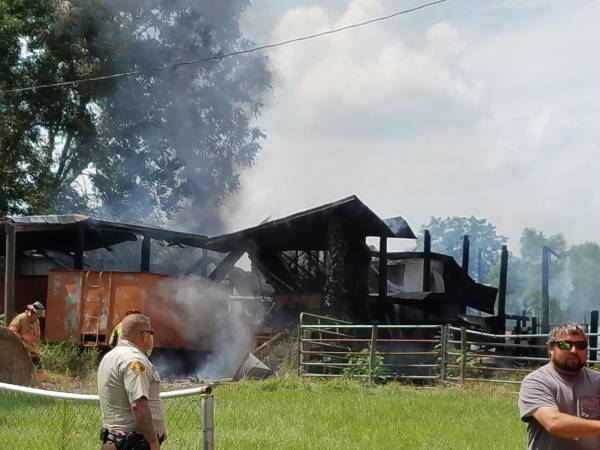 1:42 PM...Structure Fire at 848 Wayne Road in  Cottonwood