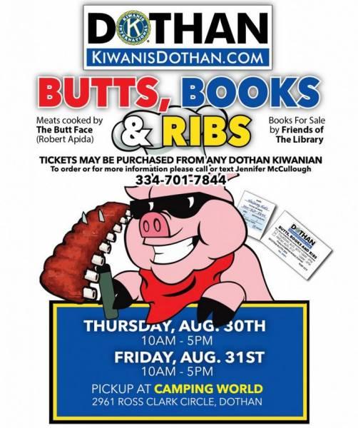 Kiwanis of Dothan BBQ Sale