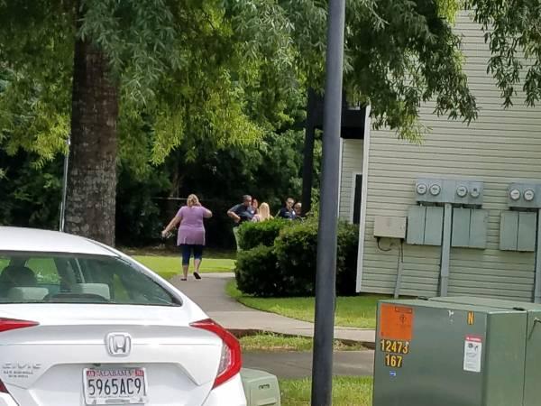 10:32 AM.. Burglary in Progress at Summer Tree Apts