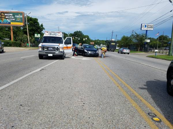 3:33 PM...Motor Vehicle Accident at Montgomery Hwy and Montana Street