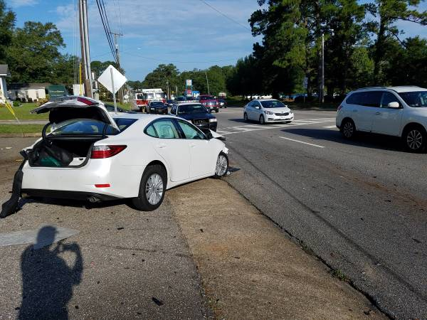 UPDATED at 8:11 AM.    Three vehicle Accident On West Main