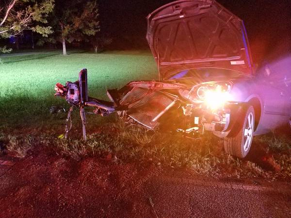 10:14 PM... Motor Vehicle Accident in the 4100 Block of County Road 203