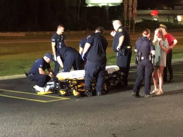 11:40 PM Saturday Night - Assault - Unconscious