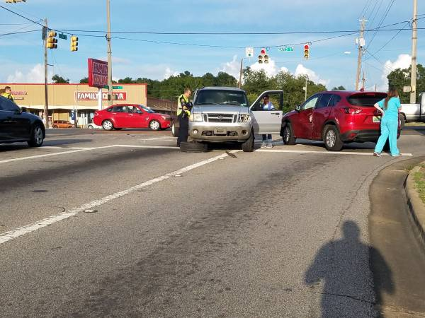 5:43 PM... Motor Vehicle Accident at South Oates and Selma