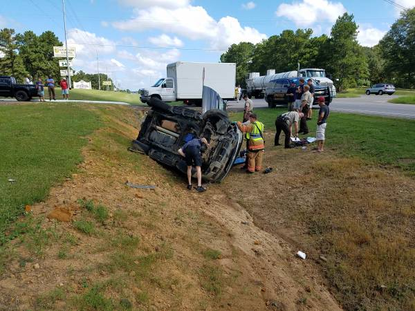 10:12 AM... Single Vehicle Roll Over on US 231 South of Dothan