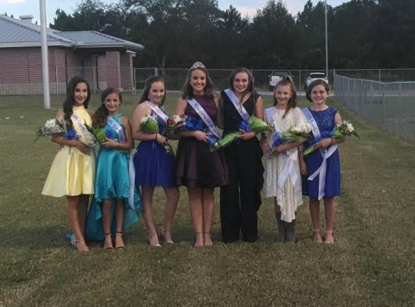 Rehobeth Middle School's 2018 Homecoming Attendants