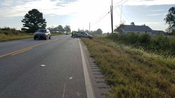 7:37 AM... Motor Vehicle Accident in the 8400 Block of East Hwy 52 in Webb